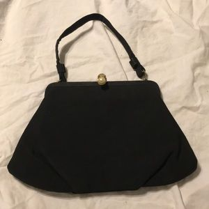 Handbags - Vintage black evening bag